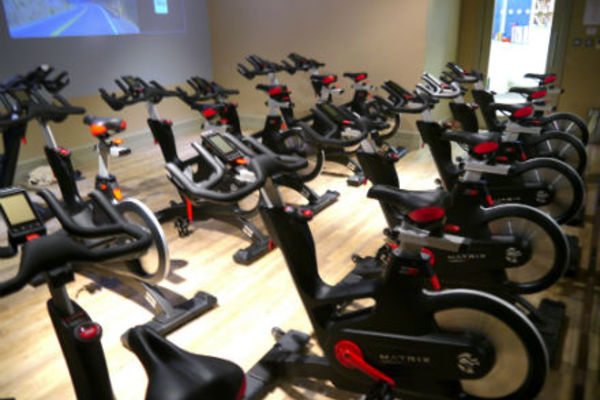 Matrix Spin Bike studio