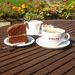 <Costa coffee and cake